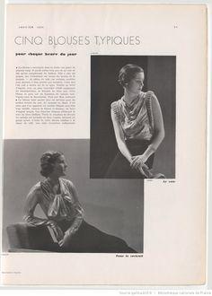 page 33 PARIS VOGUE JANUARY 1934