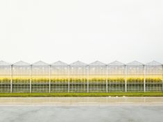 """archatlas: """"The Third Day Henrik Spohler """"This project spotlights man's cultivation of nature. It features gigantic outdoor monocultures in the United States"""" or under glass and plastic in the. Abstract Nature, Louvre, Exterior, Building, Projects, Third, Outdoor, Photos, Photography"""