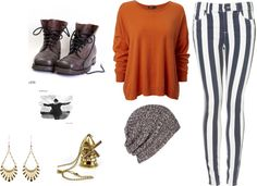 """""""Day in Town"""" by kreggabib11 on Polyvore"""