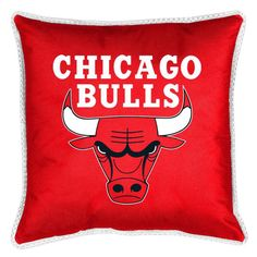 NBA Chicago Bulls Sidelines Throw Pillow