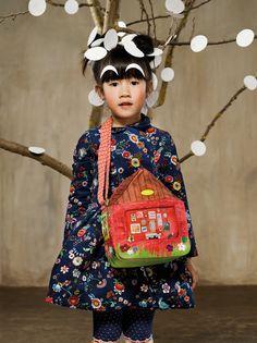 Vrolijke Oilily herfst/winter collectie 2014 | kleertjes.com #kinderkleding #kids #seventies #flowerpower #trends #fashion #kidsfashion #baby #babykleding #flower #retro