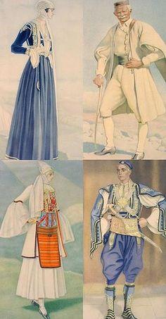 Greek costumes in Northern Epirus