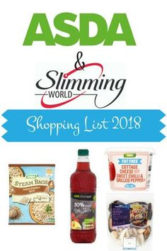 Shopping List of Low Syn and Syn Free foods from Asda on the slimming world plan. astuce recette minceur girl world world recipes world snacks Shopping List of Low Syn and Syn Free foods from Asda on the slimming world plan. Asda Slimming World, Slimming World Pancakes, Slimming World Syns List, Slimming World Shopping List, Slimming World Survival, Slimming World Diet Plan, Slimming World Recipes Syn Free, Slimming Eats, Shopping Lists