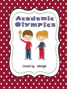 This is a perfect end of the year or beginning of the new year activity!  There's bulletin board ideas, reading, math, social studies, and a classroom Olympics.  $7.50