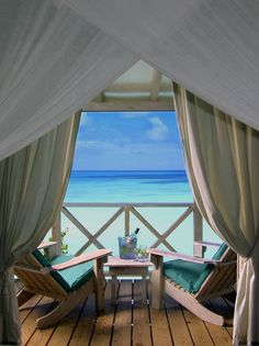 Cocos Hotel in Antigua. Each room is a private bungalow on a cliff that sits over the ocean. My heaven and where I spent my honeymoon. Love.