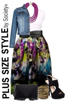 Plus Size Outfit Idea - Alexa Webb for Society+ - Plus Size Fashion for Women - Alexawebb.com