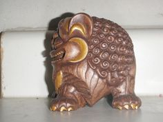 Lion. Inspired by the lion statue at Phat Tich Pagoda