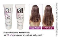 HAIRBELL tube pack – Baume et Shampooing accélérateurs de pousse cheveux et anti-chute