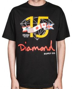 Diamond Supply Co. - 15 Years T-Shirt $34 Diamond Supply Co, Tee Shirts, Tees, 15 Years, Money, My Style, Mens Tops, How To Wear, Clothes