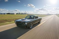 Ford Mustang 'Espionage' Makes Other Muscle Cars Look Tame – Sport Cars Mustang 65, Widebody Mustang, Mustang Bullitt, Ford Mustang Fastback, Gone In 60 Seconds, Classic Mustang, Mustang Convertible, Car Ford, Performance Cars