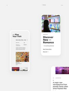 Museum of Contemporary Art — Australia on Behance Design Responsive, App Ui Design, Interface Design, Site Design, Flat Design, Brochure Design, Design Design, Portfolio Book, Portfolio Design