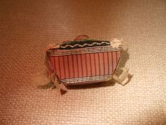 An Unbelievable Treasure - A Fine and Wonderful Regency Basket Form Pin Cushion C1820