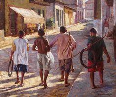 Ari Vicentini: A pintura realista de José Rosário