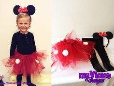 Disfraz de Minnie :D myvioletdesigns.com