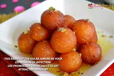 Gulab jamun is an exceptionally dessert recipe. Despite the fact that gulab jamun is made of khoya yet here we are disclosing how to make gulab jamun with milk powder. Figure out how to make gulab jamun at home. Sunday Recipes, Fall Recipes, Asian Recipes, New Recipes, Favorite Recipes, Gulab Jaman Recipe, Jamun Recipe, Indian Desserts, Indian Sweets