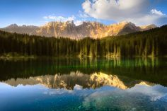 Sunrise in a mirror by Remush Lerner