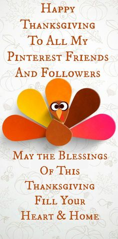 Happy Thanksgiving From My Boards To Yours... Have a Blessed Holiday ♥ Tam <3