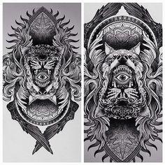 #broslavskiy #sketch #tattoo #graphic #etching #bw #linework #art