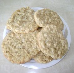 Coconut Cookie Recipe: Sweet coconut combined with oatmeal bring a special flavor to this dessert recipe. Yummy delicious...