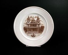 Wedgwood 1941 First Edition Old London Views St Paul Plate