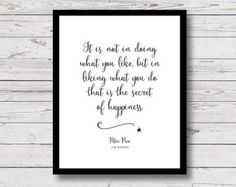 Peter Pan quote Printable Quotes When the by SerifAndSagePrints