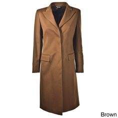 Hathaway Women's Italian-made Cashmere Coat | Overstock™ Shopping - Top Rated HATHAWAY Coats