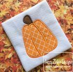 Pumpkin 108 Applique Embroidery Design
