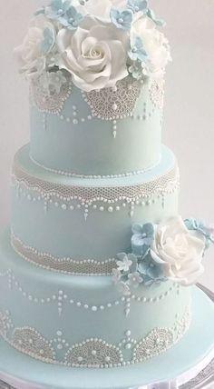 Coral Wedding Cakes, Fondant Wedding Cakes, Fall Wedding Cakes, Beautiful Wedding Cakes, Wedding Colors, Creative Wedding Cakes, Wedding Cake Designs, Martha Stewart Weddings, Romantic Girl Names