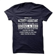 2Job on nice Activity Assistant T-Shirt - #diy tee #tshirt quotes. MORE INFO => https://www.sunfrog.com/States/2Job-on-nice-Activity-Assistant-T-Shirt.html?68278