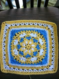 Ravelry: Project Gallery for Velvet and Lace Square pattern by Priscilla Hewitt
