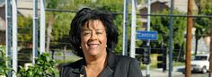 Councilwoman Jan Perry of CD9