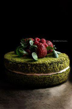 Moss Forest Cake   Bake Street