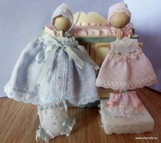1:12 dollhouse clothes, miniatures clothes , 12th nursery clothes 1/12 scale miniatures