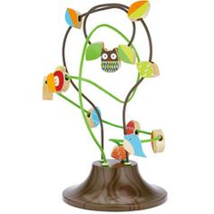 Cute accent/toy for kids room from @Layla Grayce Skip Hop Wood Toy Treetop Friends