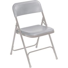 a simple, inexpensive folding chair. $18
