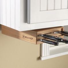 Over the Counter Knife Storage!!!!