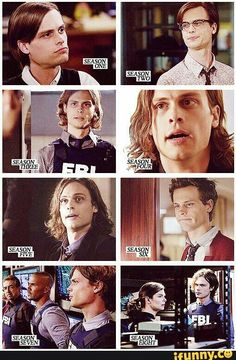 Love his hair in season three and eight! Any hairstyle on him is awesome but those are my favs!!!!