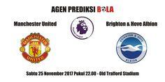 Prediksi Manchester United vs Brighton 25 November 2017