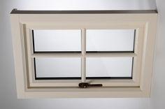 Really nice timber casement window