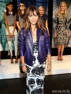 Charlotte Ronson fashion presentation during Mercedes-Benz Fashion Week Spring 2014 at The Box at Lincoln Center on September 7, 2013 in New York City.