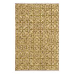 allen + roth Maysburg Gold Rectangular Indoor Woven Area Rug (Common: 9 x 12; Actual: 108-in W x 144-in L)