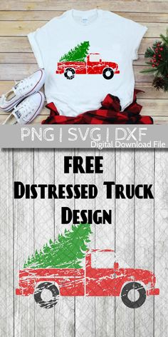 FREE Christmas SVG Distressed Truck with Tree - Book T Shirts - Ideas of Book T Shirts - Free SVG clip art design for Christmas. This design is perfect for shirts signs and more! Cricut Craft Room, Cricut Vinyl, Merry Christmas, Christmas Crafts, Christmas Manger, Cricut Tutorials, Cricut Ideas, Craft Day, Silhouette Cameo Projects