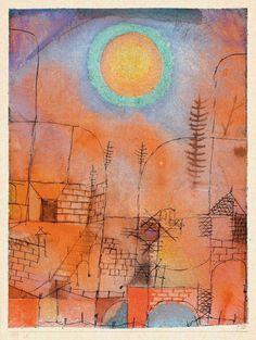 "djinn-gallery: ""paul klee Bau Construction. 1919. """