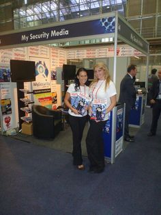 Our promo girls doing a great job showing off our brand!