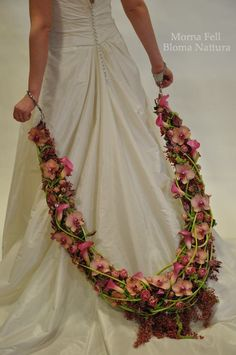 """by Morna Fell """"The Bonds of Matrimony, inspired by Andromeda chained to her rock. Taken from my collection designed for Fusion Flowers Weddings 7, out now, with incredible work from the top names in our industry."""""""