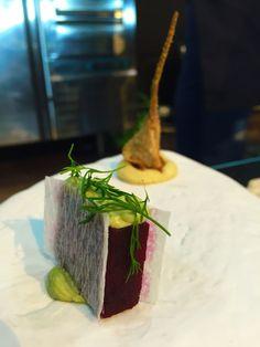 Segunda entrega de los entrantes de @RicardCamarena, puro sabor en #GastroA16 con record de asistentes
