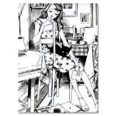 クリアファイル・屋根裏の少女【楽天市場】