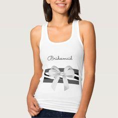 'Dress-Up* Tank-Tops(c)  Bridesmaid's+Tank-Tops Tank Top