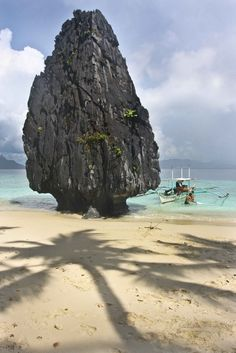 Stone Tower, Palawan Island, Phillipines