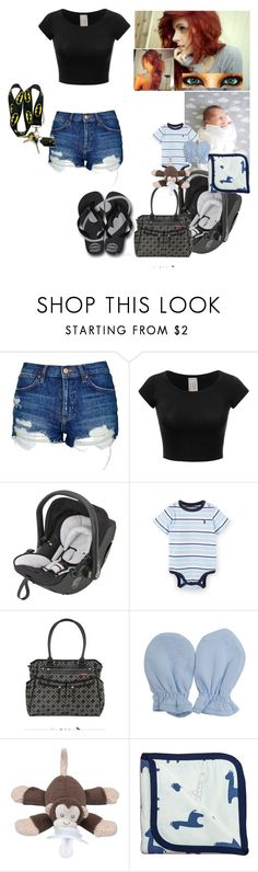 """Babysitting Miss April~ Nikki"" by satandaughter ❤ liked on Polyvore featuring Topshop, Havaianas, Skip Hop, Universal and Monica + Andy"